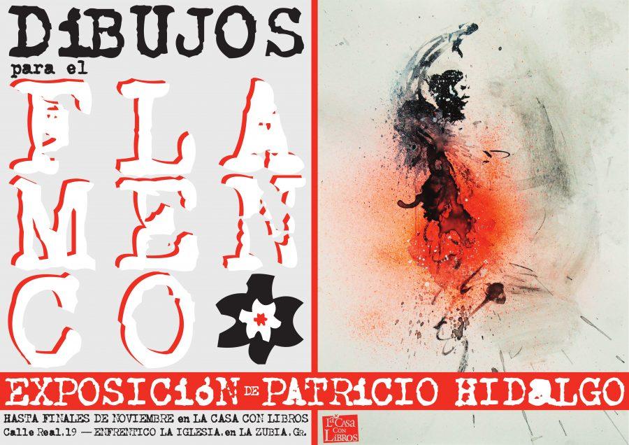 DIBUJOS PARA EL FLAMENCO, una exposición de Patricio Hidalgo.