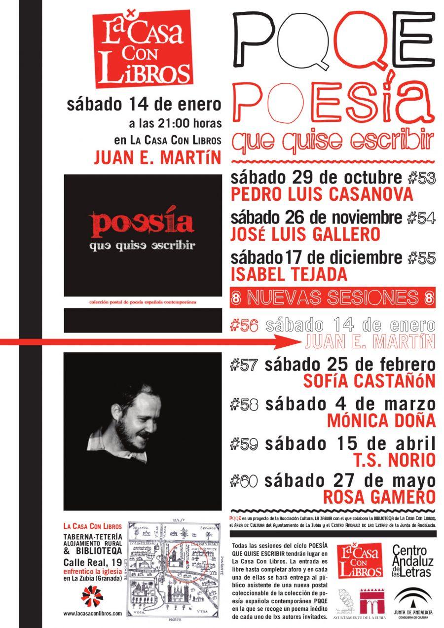 PQQE #56 con Juan E. Martín