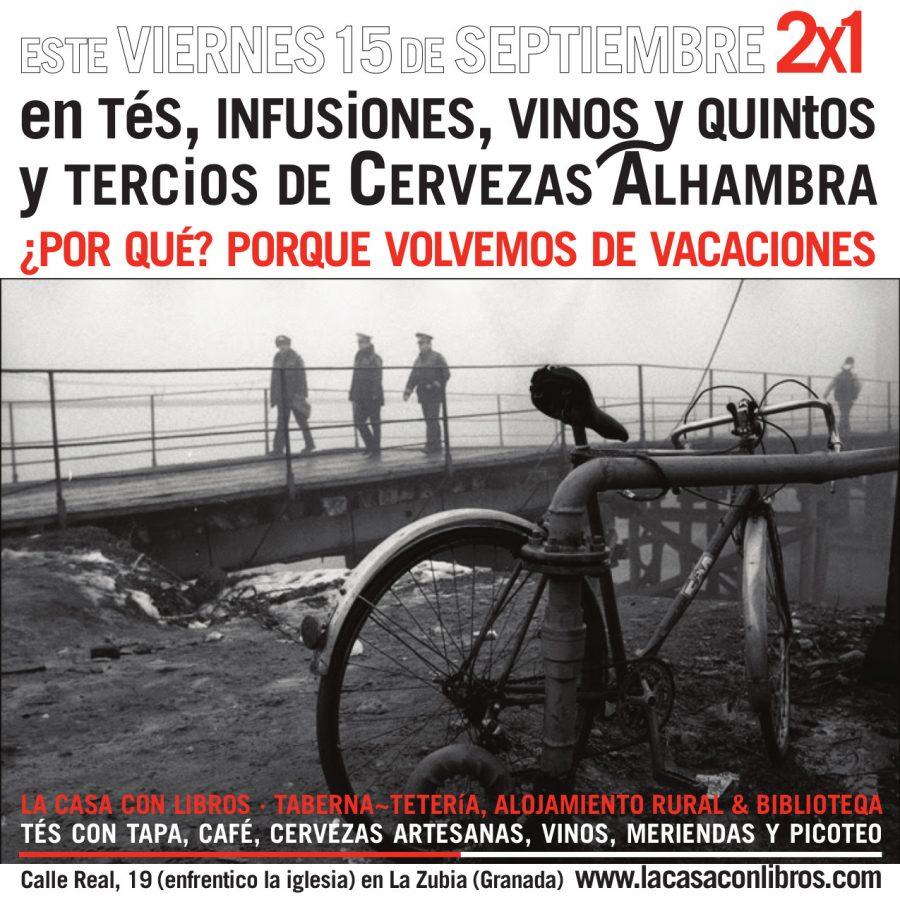 VOLVEMOS DE VACACIONES